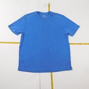 Tommy Bahama 2XL Blue Crewneck T Shirt  M-6-96859